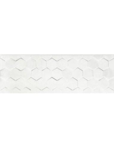 Dalmacia white hexagon 25x75 GAT I