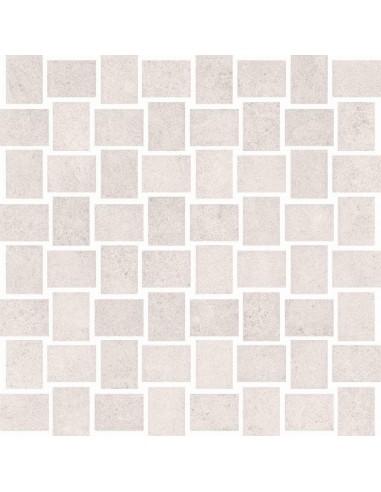Mozaika Prince white 30x30 GAT I