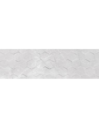 Braga White hexagon 25x75 Rect GAT I