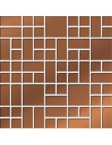 Mozaika Copper Glass 25x25 GAT I